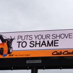 Digital Outdoor Billboard on I-71